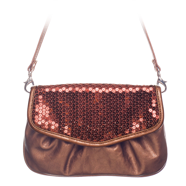 Jane-Bronze Sequin Grace Adele Clutch $8 80% off www.stylebystiles.graceadele.us