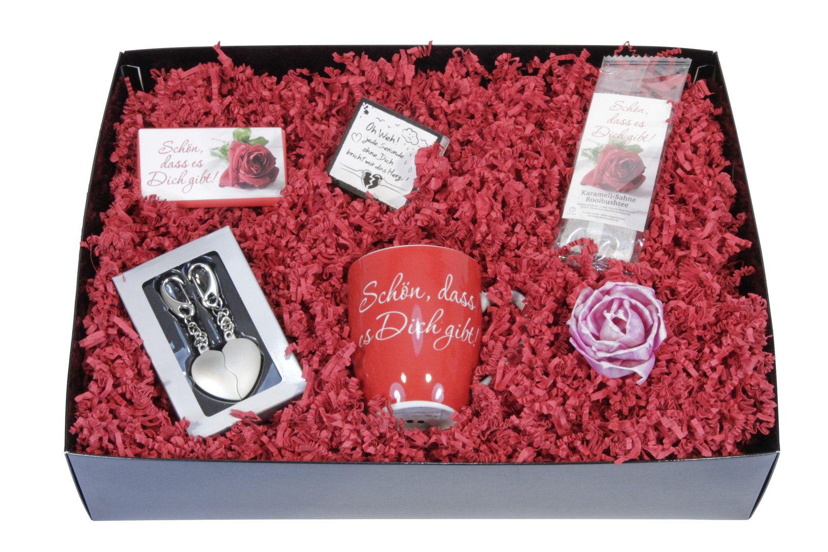 Valentinsbox mit Herz Anhänger - ideas in boxes (mit