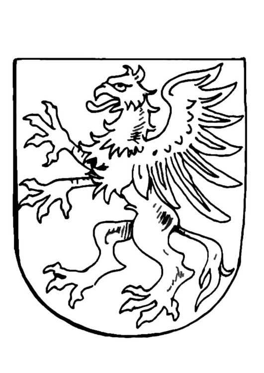 Coloring page coat of arms | (HI)STORY | Pinterest