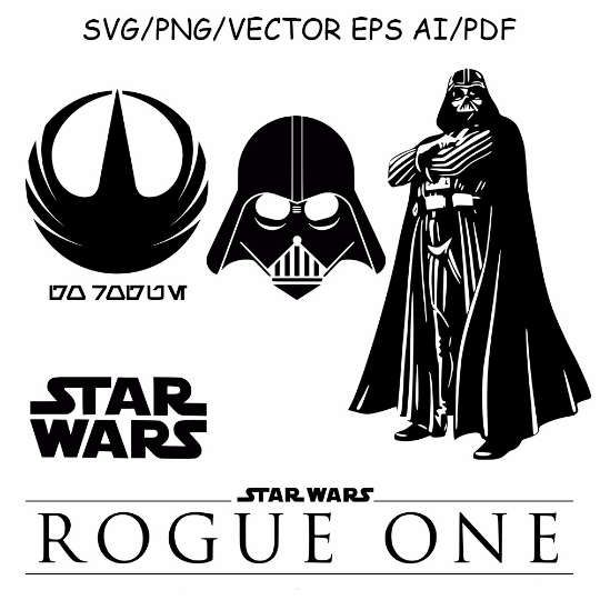 Star Wars Rogue One Darth Vader Star Wars Symbols Star Wars Darth Vader Logo