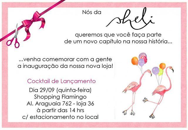 Frases De Inauguração De Loja: Zpr É AMANHÃ!!! Venha Comemorar Com A Gente! ️ #alphaville
