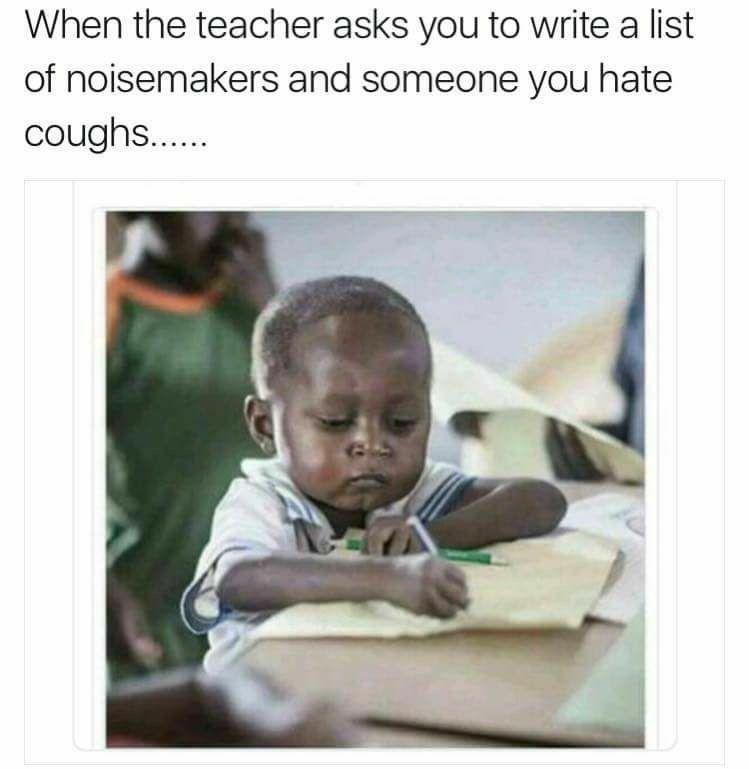 Pin By Aja Dibba On Memes Kids Writing African Memes School Memes