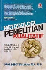 Metodologi Penelitian Kualitatif Deddy Mulyana Penelitian Buku