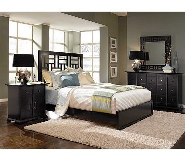 Broyhill Perspectives 4 Piece Low Profile Bedroom Set ...