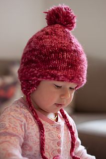 Oliver's Earflaps pattern by Kristina Schmidt | Baby hat ...