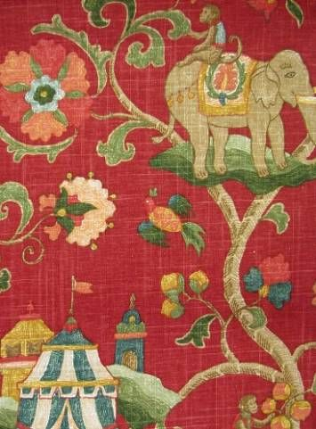 Elegant Elephant Print Fabrics For The Love Of Fabric Upholstery