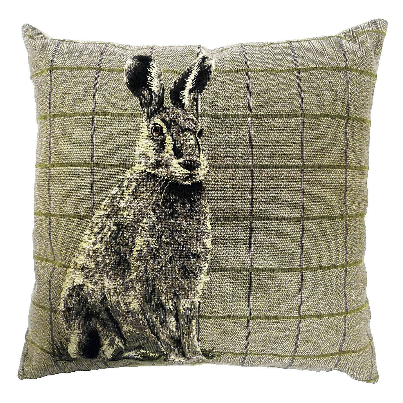 Hare Tapestry Cushion