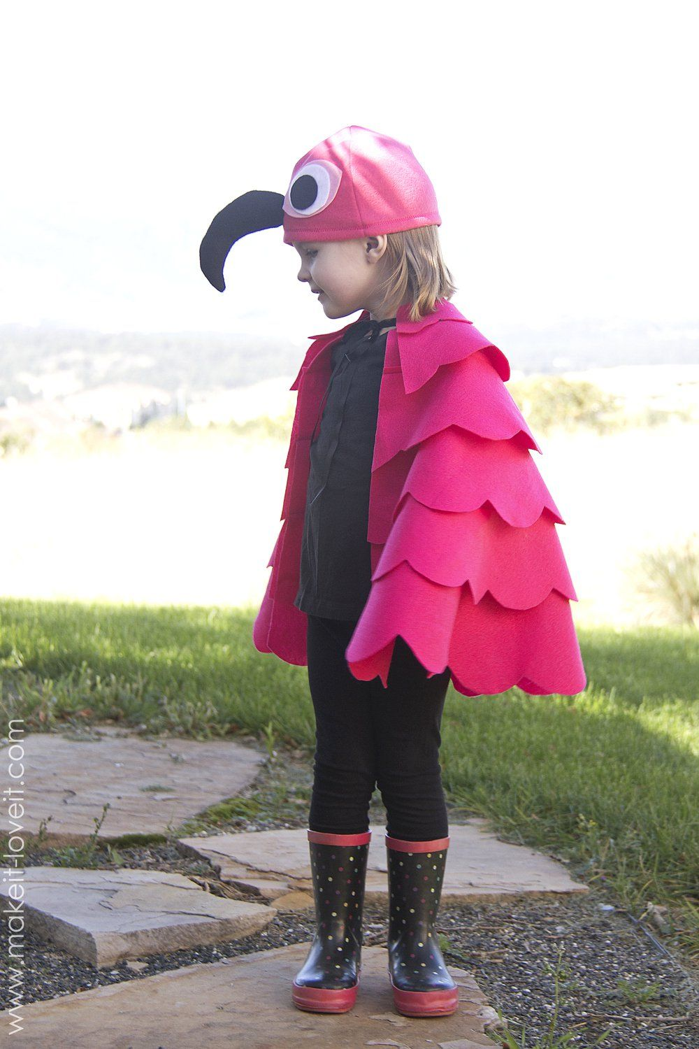 Simple Flamingo Costume.....for any age | Pinterest | Flamingo ...
