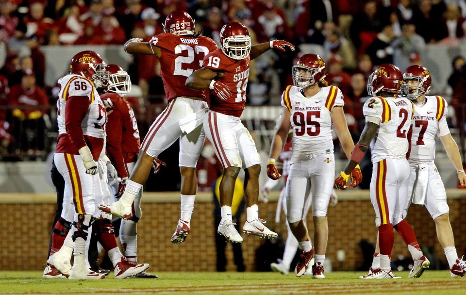 Ou Vs Iowa State Photo Gallery Ou Football Sooners Iowa State