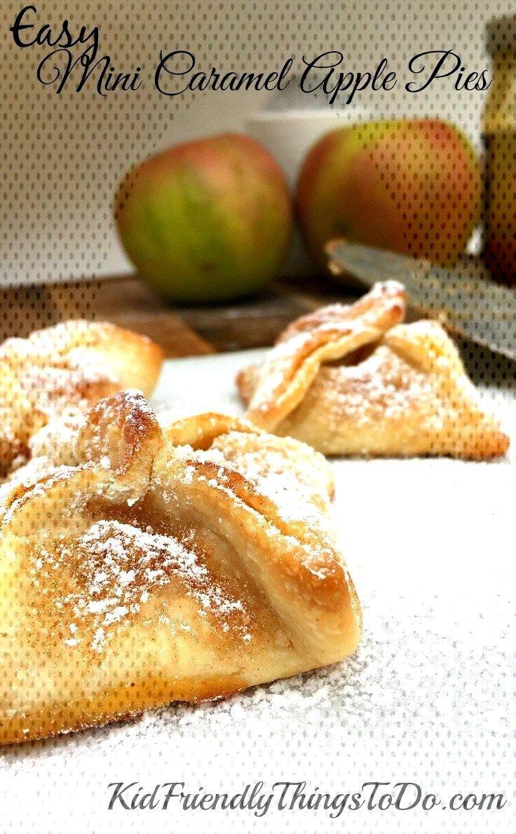 Easy Mini Caramel Apple Pies Easy Mini Caramel Apple Pie...
