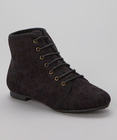 Another great find on #zulily! Black Dori Ankle Boot #zulilyfinds