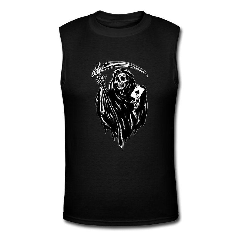 Grim Reaper Mens Tank Top $28.99