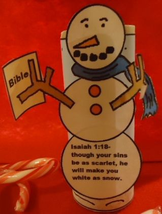 Church House Collection Blog: Snowman Holding Bible Toilet Paper
