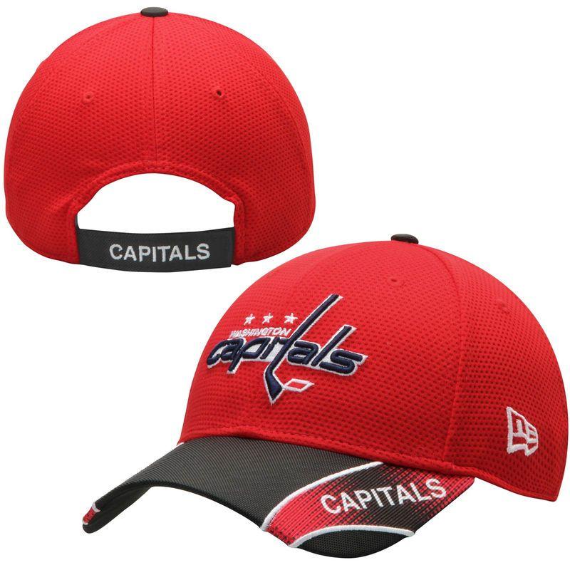 Washington Capitals New Era NHL Visor Streak 9FORTY Adjustable Hat - Red. Washington  CapitalsWinter HatsVintage ... 45cabf6ac