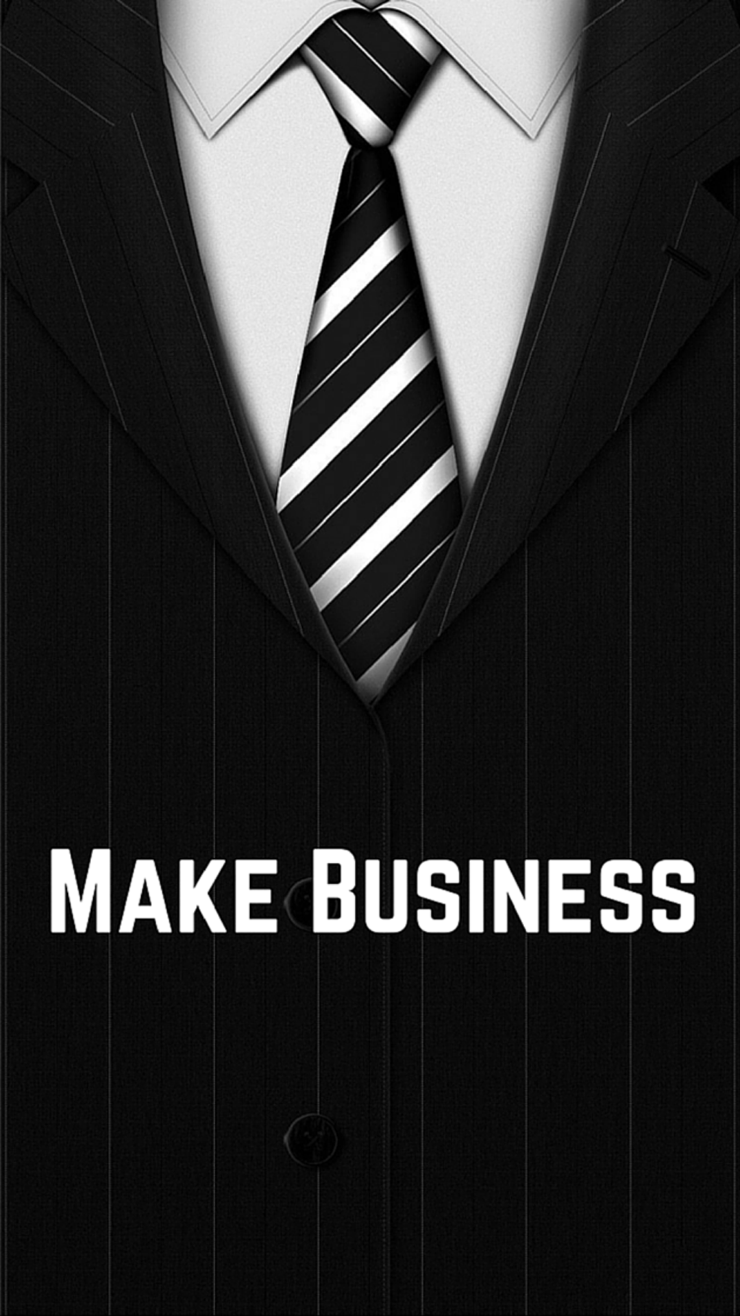 Art Creative Quote Business Tie Suit Shirt Black White HD IPhone 6 Plus Wallpaper