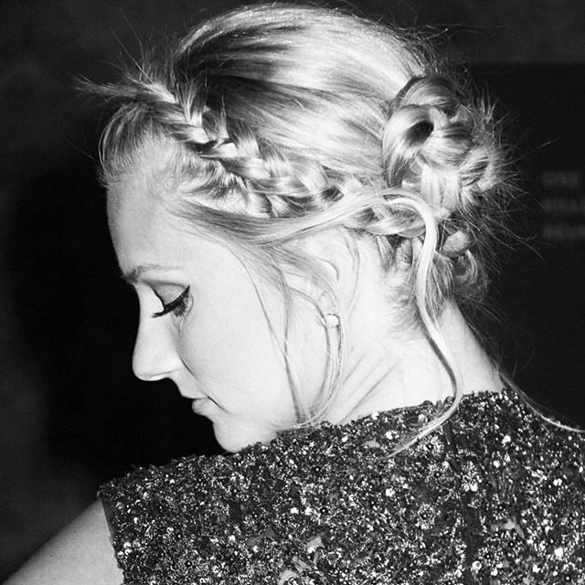 Loved my hair and makeup from last night by @contourfossa #MLTDpremiere #braidsonbraids