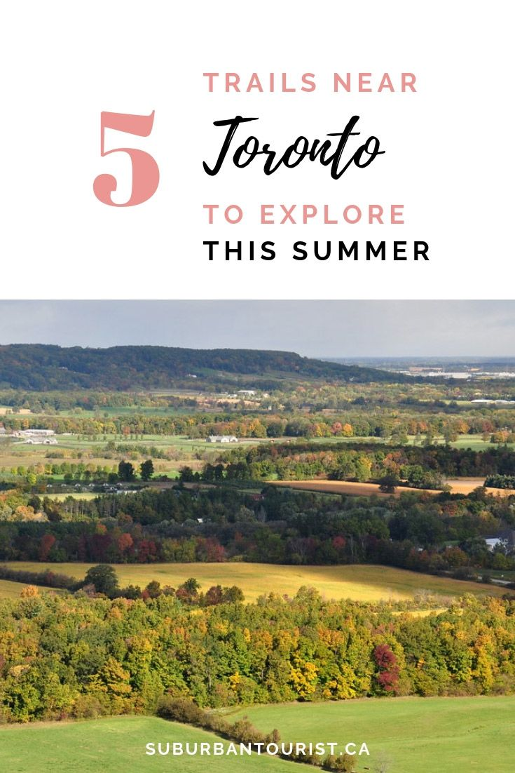 There are numerous trails outside of Toronto that offer hours of hiking in beautiful landscapes. Here's a list of five trails that anybody can explore, no matter their fitness levels. #hiking #trails #Canada #Toronto #wanderlust #naturelovers #nature #outdoors #hikingtrails #traveltips