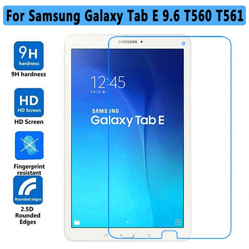 Premium Tempered Glass Screen Protector for Samsung Galaxy Tab E 9.6 T560 T561