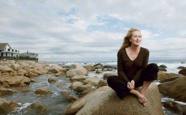 BTS photoshoot Annie Leibovitz with Meryl Streep
