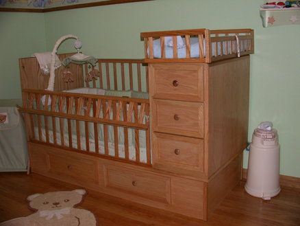 Baby cribs with drawers - Modern Baby Crib Sets - Crib / Drawers /Changing Table For My Son Woodworking
