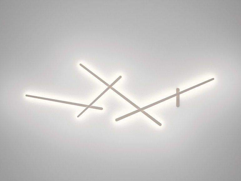 Contemporary style polycarbonate wall lamp SPARKS 1705