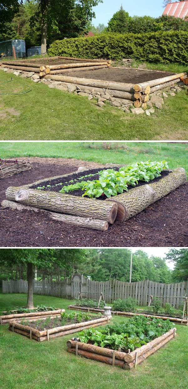 Photo of 15+ DIY Tree Log Ideas for Your Garden 2017