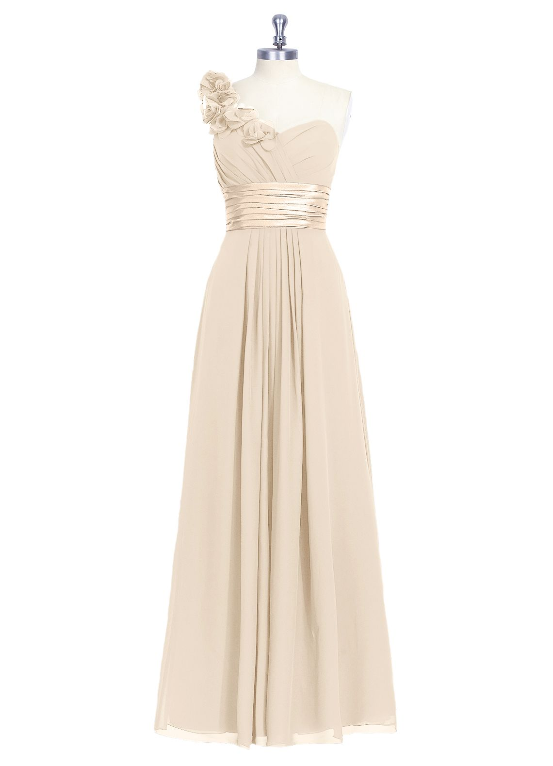 The azazie evelyn is a flirty and fun bridesmaid dress this