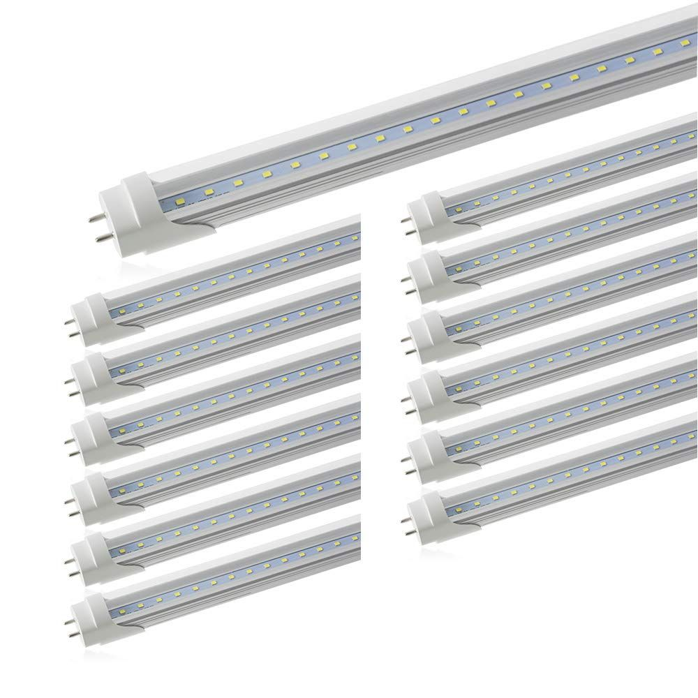 Led Tube Light 2ft Romwish 24 8w 20w Fluorescent Replacement Led Light Bulbs Dual End Powered Ballast Bypass 11 Led Tube Light Tube Light Led Light Bulbs