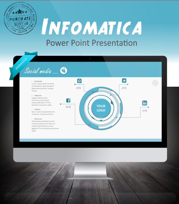 Infomatica powerpoint presentation template make outstanding data infomatica powerpoint presentation template make outstanding data visualisation shows with this powerpoint presentation all toneelgroepblik Image collections