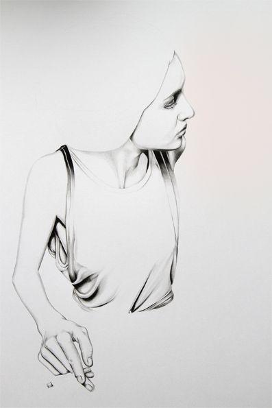 Caroline Morin, obra sin titulo 2010.   web oficial cargocollective.com