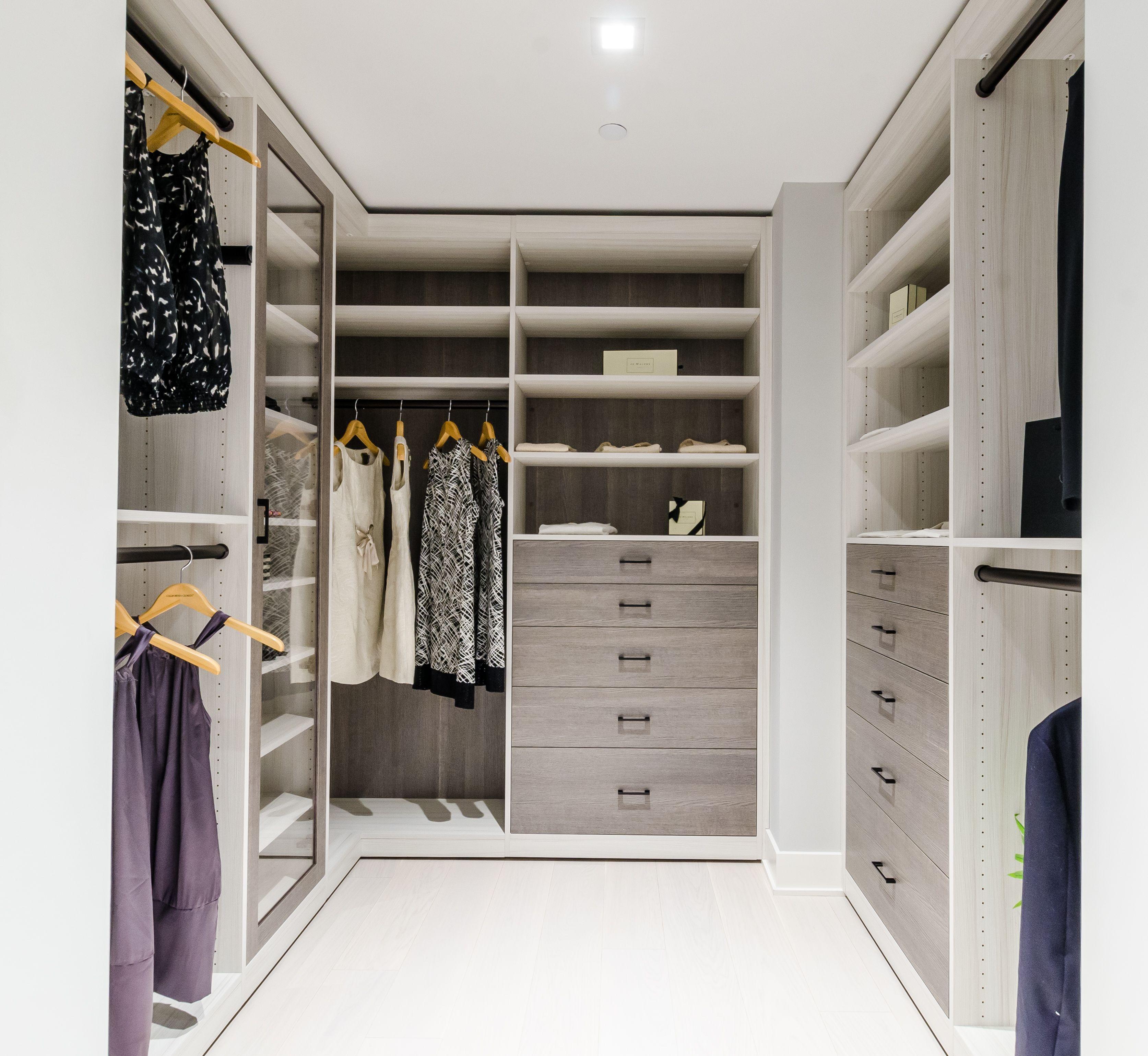This Custom Design Created By California Closets New York