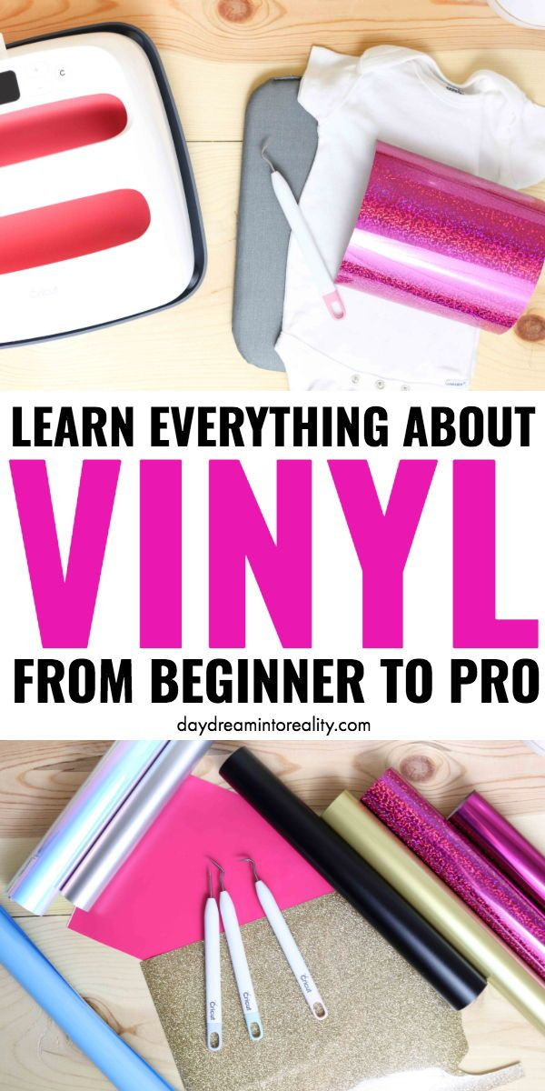 Learn Everything About Vinyl #cricutcrafts