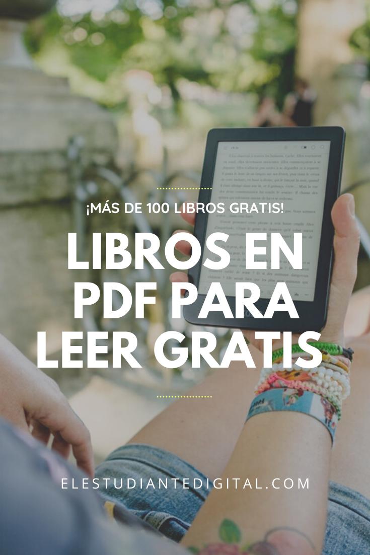 100 Libros Para Leer Gratis En Pdf Paginas Para Leer Libros Libros Para Leer Libros Para Aprender