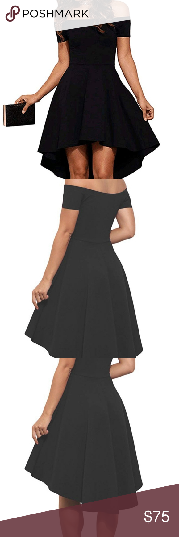Black New Years Eve Holiday Party Cocktail Dress Boutique