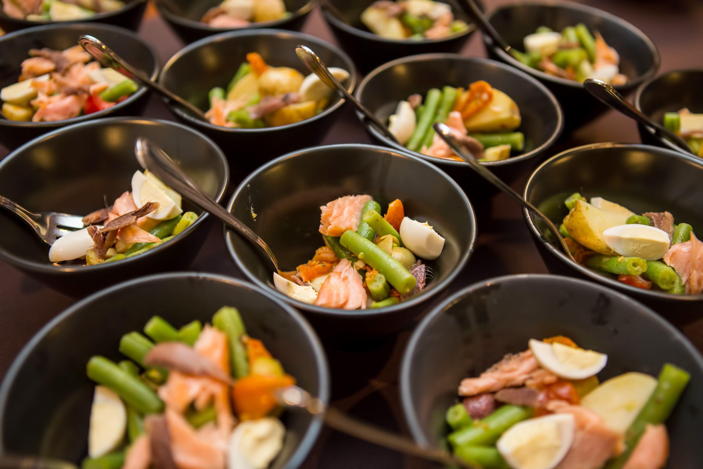Bowl food menu - a light lunch option for delegates at ...