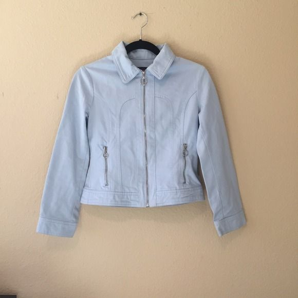 Baby-blue jacket In good condition. Limited Too Jackets & Coats