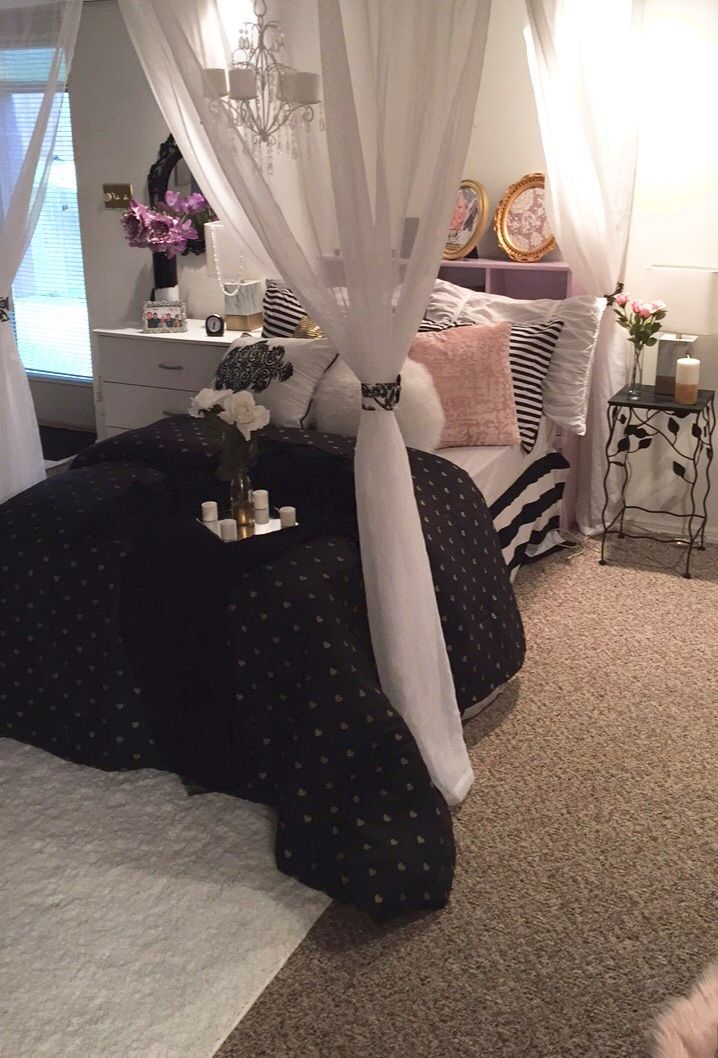 💄💋victoria secret inspired bedroom 👄  bedroom