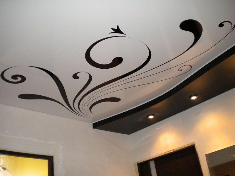 Натяжные потолки с фотопечатью, для кухни, ванной   Фабрика Потолков   600x800