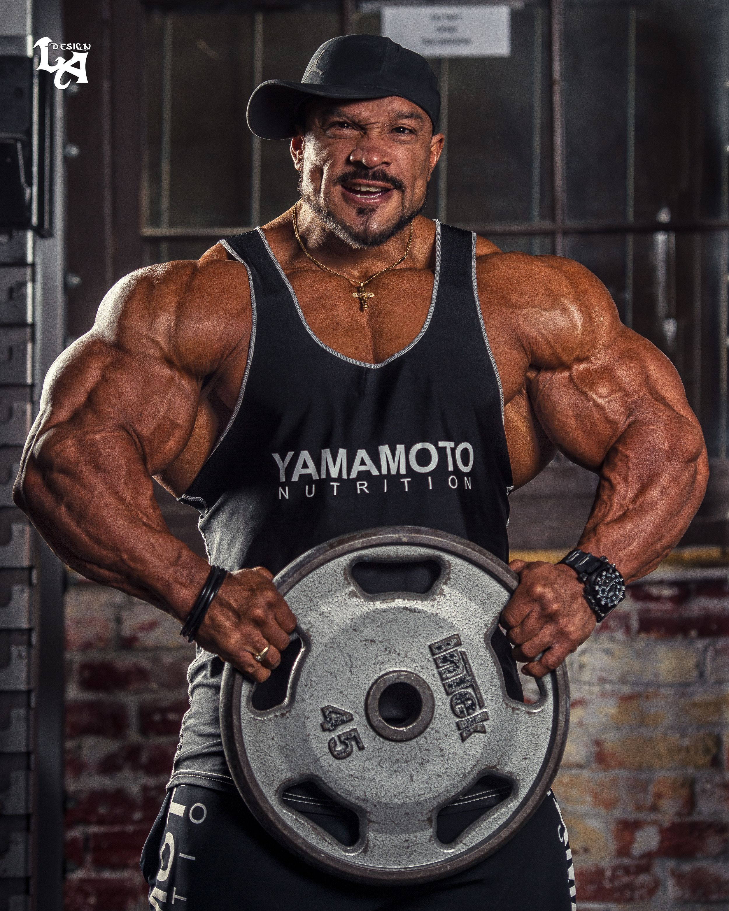 bbe6a3e1 Roelly Winklaar Team #YamamotoNutrition Photoshoot after the Arnold Sports  Festival 2018...THE BEAST! #TeamYamamoto #RoellyWinklaar  www.yamamotonutrition. ...