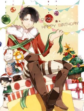 Attack on Titan one-shots - Happy Birthday~ Levi x Reader | Levi