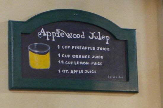 Apple Barn julep   Julep recipe, Secret menu, Restaurant