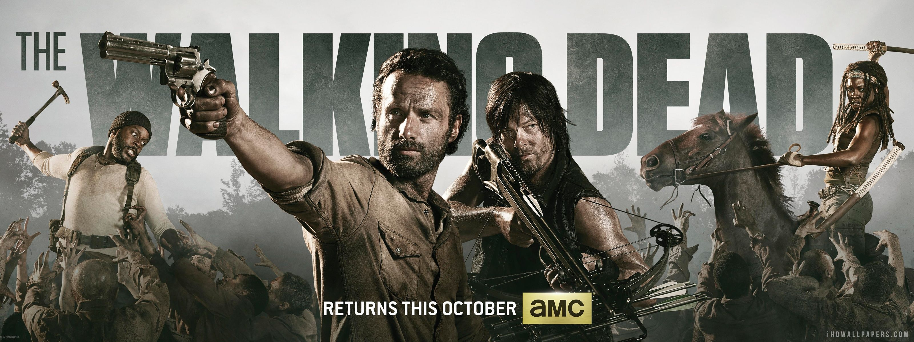 The walking dead season 4 gets underway in the states on amc from the walking dead season 4 gets underway in the states on amc from october 13th voltagebd Images