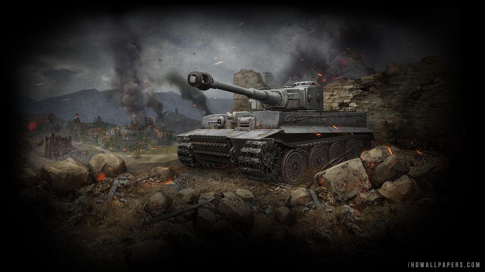 Tiger Tank Wallpaper For Iphone Tank Wallpaper World Of Tanks Tiger Tank