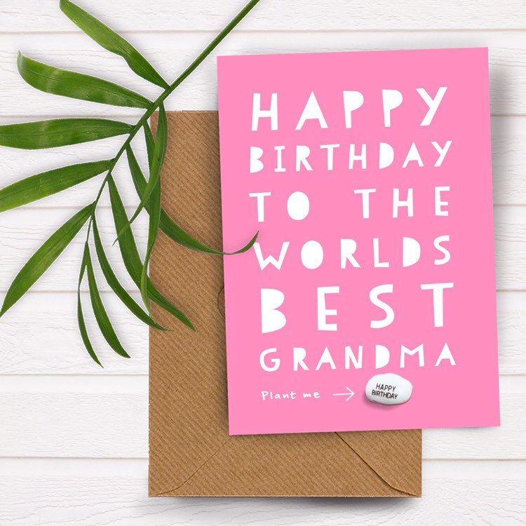 Birthday card, Birthday card for grandma, gran, granny