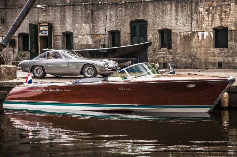 Ferruccio Lamborghini S Twin V 12 Powered Sport Boat Restored Riva Boat Boat Design Boat Building