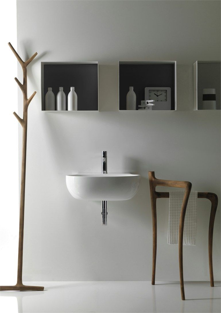 Modern Rustic Bathroom Furniture Collection Ergo by Galassia ...