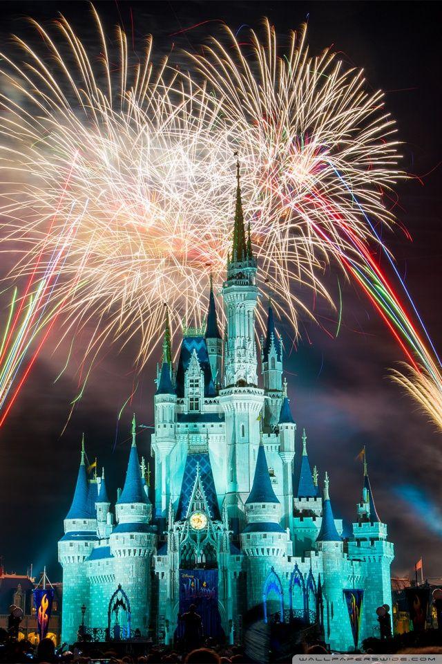 Magic Kingdom Fireworks Hd Desktop Wallpaper Widescreen High New Wallpaper Iphone Disney Wallpaper Christmas Wallpaper Hd