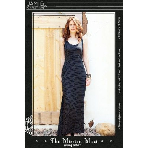 Schnittmuster: Mission Maxi Dress