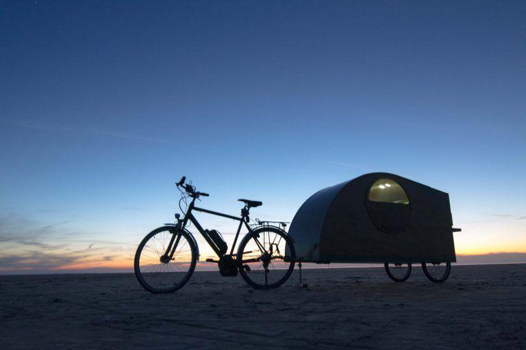 Bicycle caravan, Bicycle camper, Bikeavan, Fietscaravan