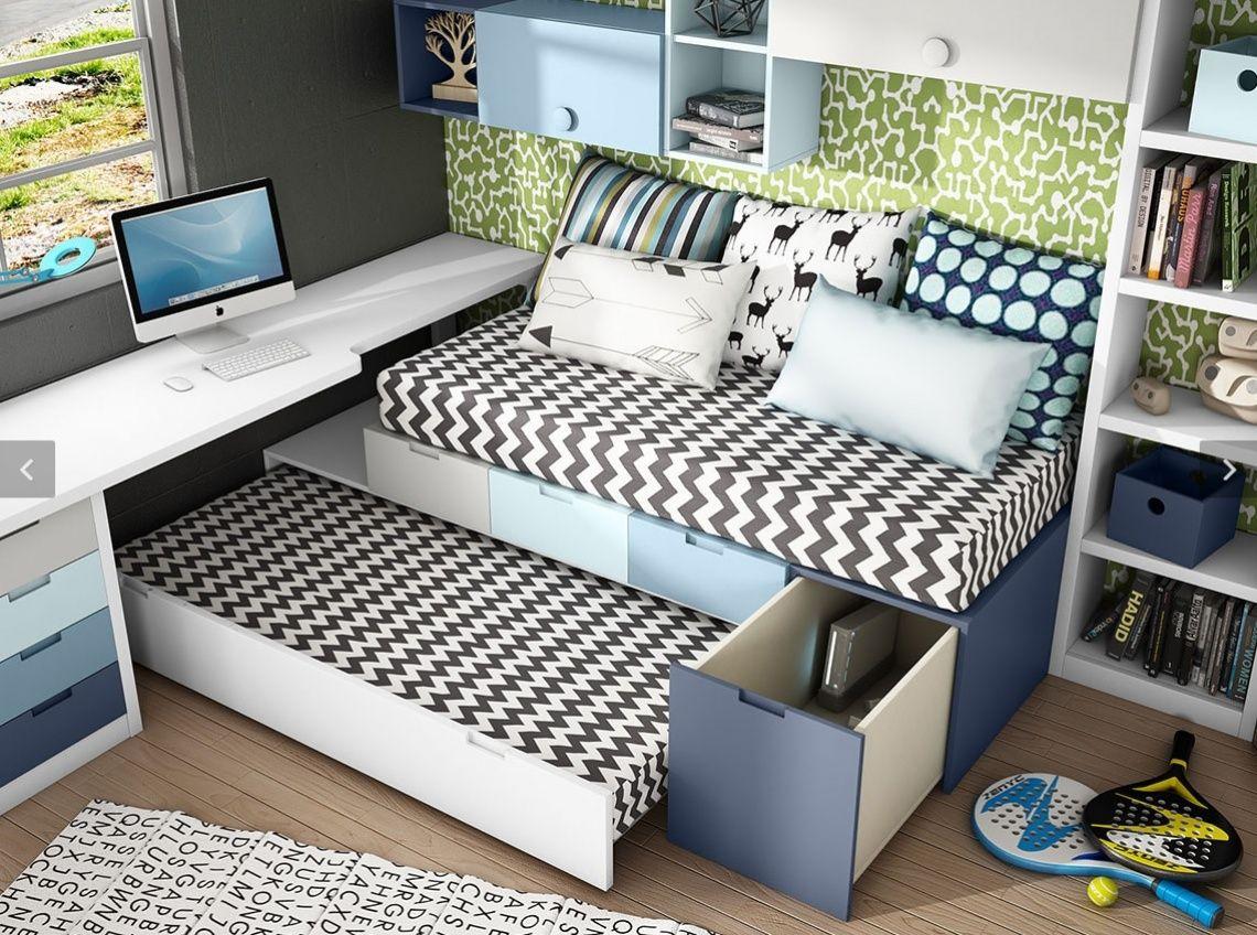 Cama nido con cajones laterales | Mueble contemporaneo | Pinterest ...